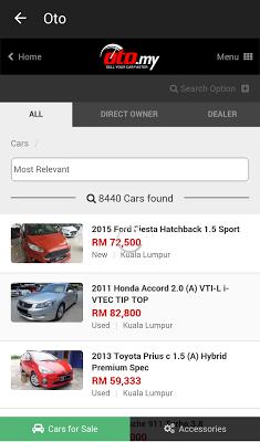 Car Price in Malaysia - screenshot