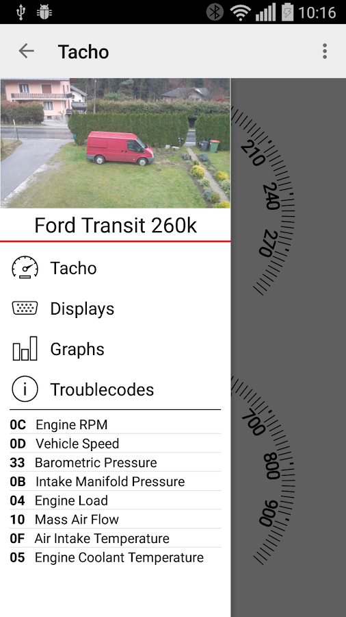 Mileage logbook - TripTracker- screenshot