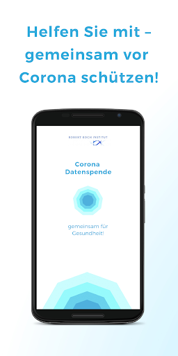 Corona-Datenspende screenshot for Android