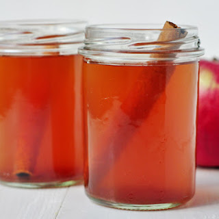 Warm Spiced Apple Cider.