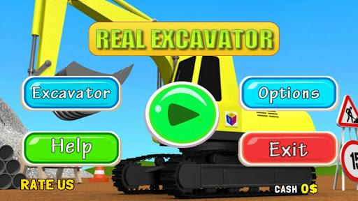 Real Excavator Simulator