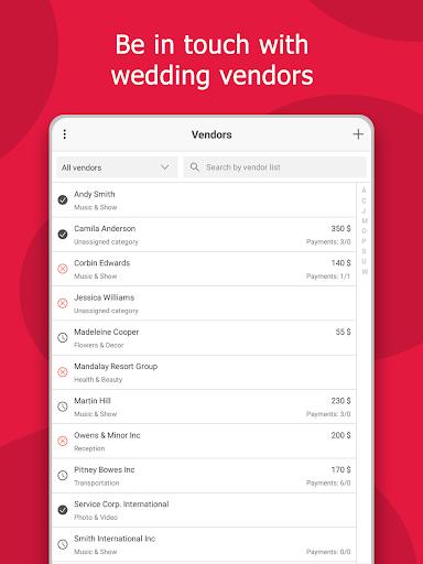 MyWed u2764ufe0f Wedding Planner with Checklist and Budget 2.02.112 Screenshots 14