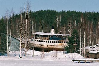 Photo: The steamer Jyväskylä (1924, in service till 1969)