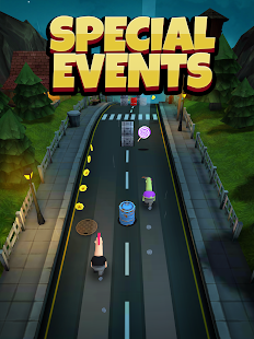 Overspin: Night Run – 3D double runner 11
