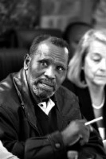 DENYING ALLEGATIONS: Madala Abraham Mzizi of IFP. Pic. Lucky Nxumalo. 26/05/2008. © Sowetan.