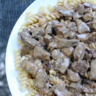 30 Minute Beef Stroganoff (Without The Mushrooms!)