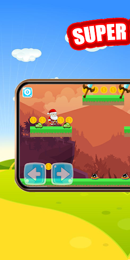 Super Jungle Santa Adventures - New Adventure Game android2mod screenshots 1