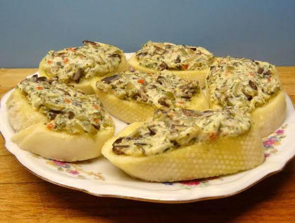 Olive Crostini Recipe