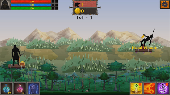 Download Shabow Archers: Bow and Magic! For PC Windows and Mac apk screenshot 3