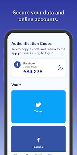 Jumbo: Privacy + Security screenshots 8