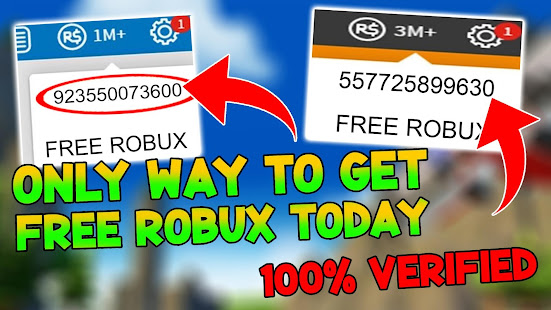 Free Robux Generator 2020 Hack How To Get Unlimited Free Robux 2020 Apps On Google Play