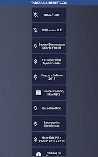 App Cálculos Trabalhador CLT 2018 APK for Windows Phone