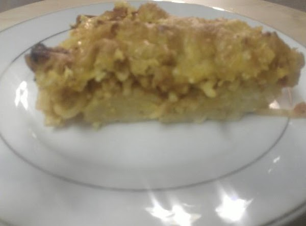Gina's Spaghetti Pie Recipe
