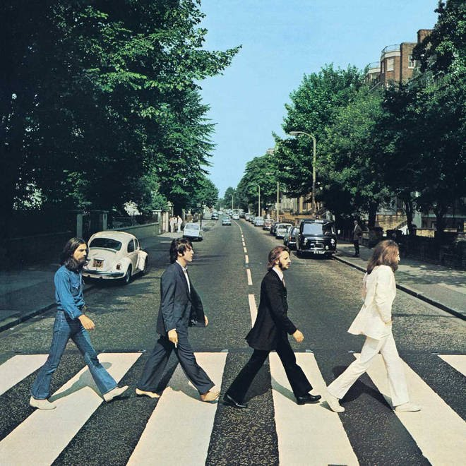 The Beatles stride into history as one of the most legendary bands to ever exist. ( source: https://www.radiox.co.uk/artists/beatles/the-beatles-abbey-road-album-cover-facts-meaning/ )
