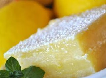 Tart Lemon Bars Recipe
