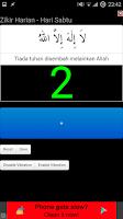 Screenshot of Zikir Harian + Tasbih