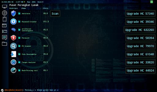 Hackers Online (MMO Simulator) 0.3.6.2 screenshots 12