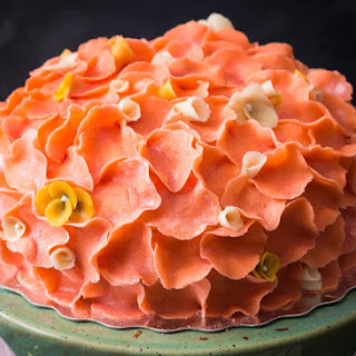 Chamomile & Quince Swedish Princess Cake.