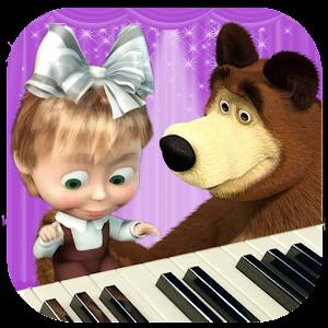 рамки маша и медведь пианино картинки устанавливаться
