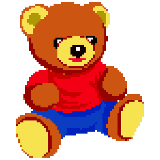 Toys Color by Number - Pixel Art, Sandbox Coloring Icon