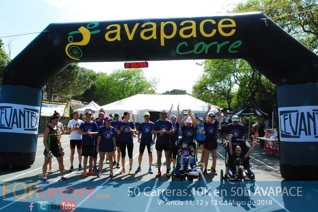 Se completaron con éxito las 50 10K en 50 horas de Avapace 2018