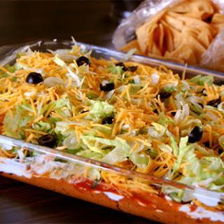 7 Layer Taco Dip