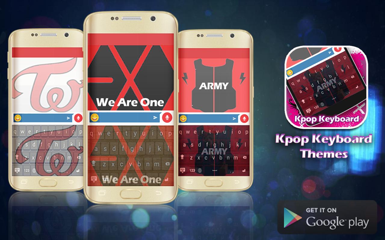 Google themes kpop - Kpop Keyboard Theme Screenshot