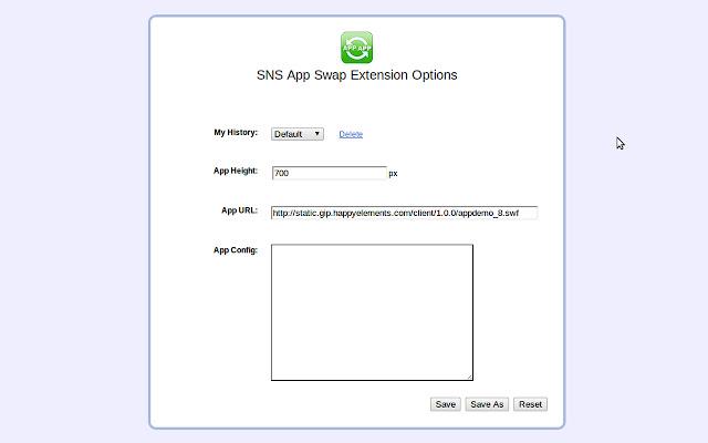 SNS App Swap