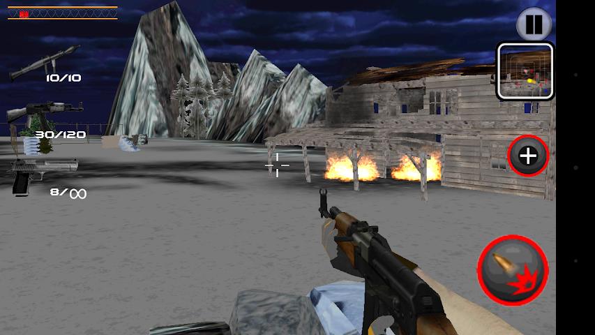 android Army Commando Shooter Sniper X Screenshot 5