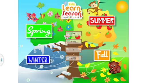 Kids Learn Seasons And Months