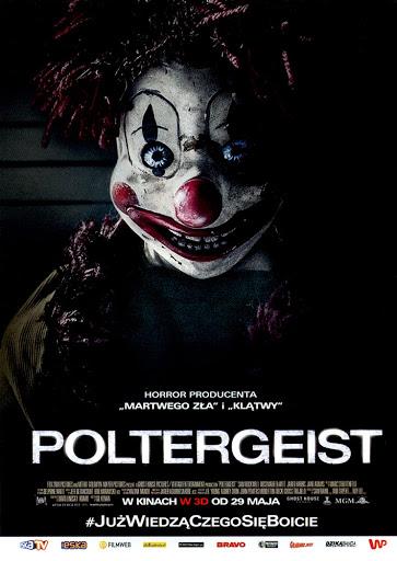 Przód ulotki filmu 'Poltergeist'