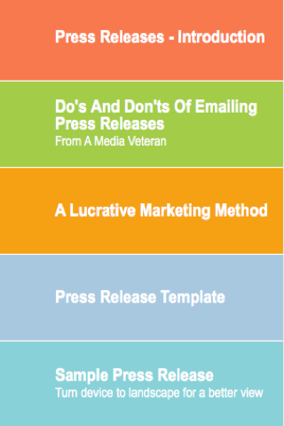 app press release template - press release format android apps on google play