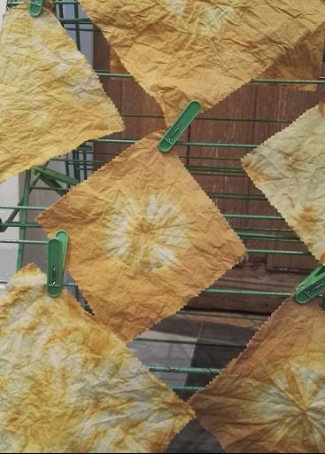 tissu prêt pour la cire d'abeille