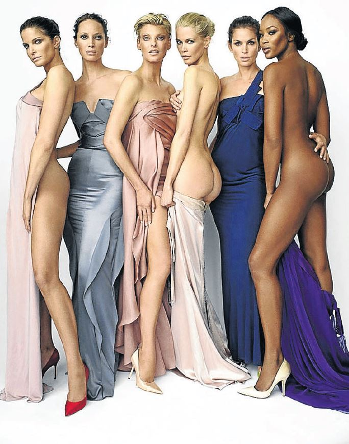 Iconic supermodels who defined beauty in the 1980s, were identical in body: impossibly tall and thin.