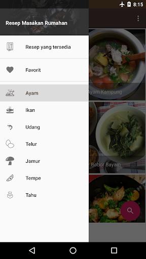 Screenshot 2 Resep Masakan Rumahan