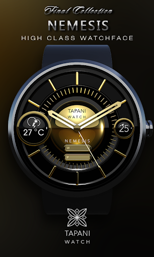 Nemesis weather watch face  screenshots 1