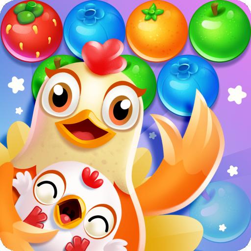 Chicken pop - Fruits bubble splash