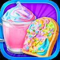 Unicorn Treats - Sweet Hot Chocolate & Toast Maker icon