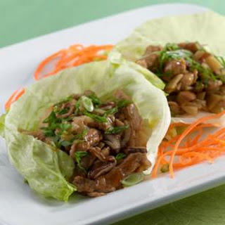 Lettuce Wraps with Spiced Pork