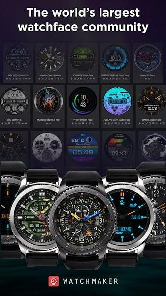 Download APK: WatchMaker Watch Face v5.7.3 [Unlocked]