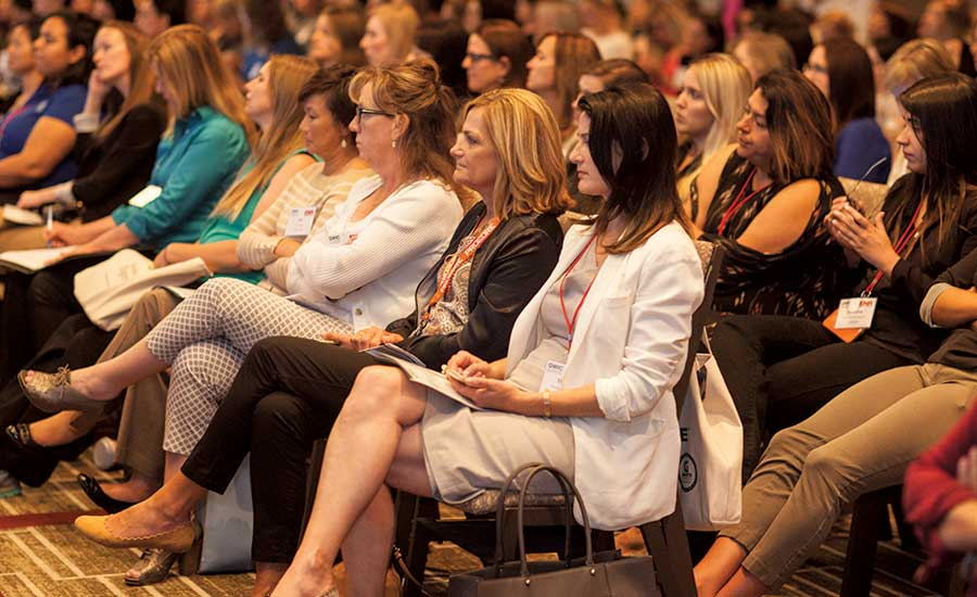 Women's Business Conference in the midwest.