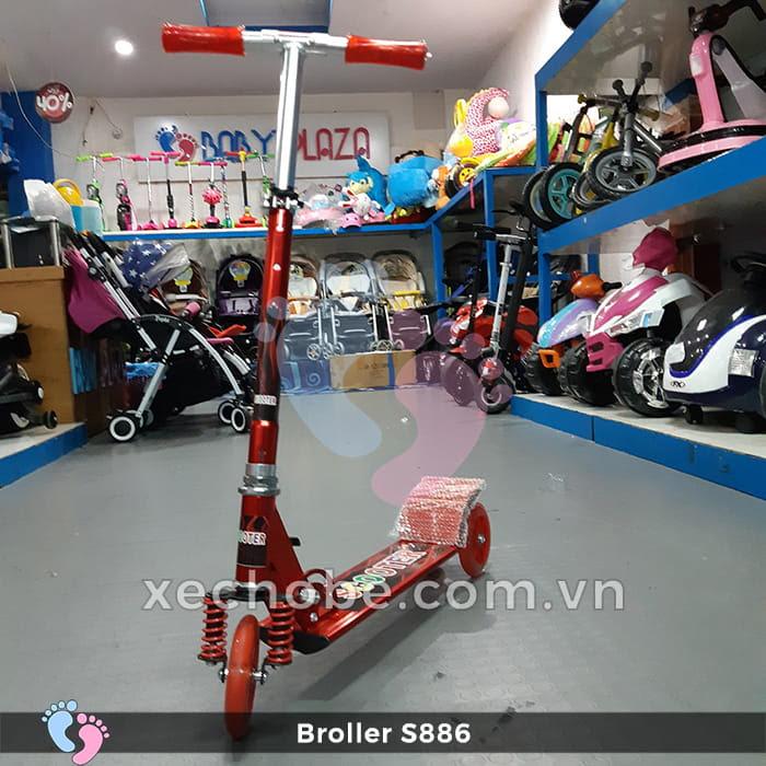 Xe trượt Scooter Broller S886 3