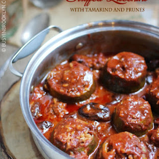 Zucchini Mechshie with Tamarind & Prunes