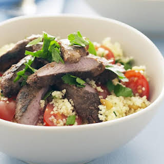 Spiced Lamb with Couscous.