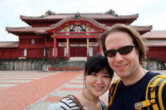 Photo: In front of Shuri castle