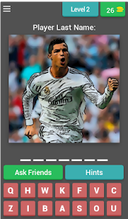 Football Player - Guess Quiz! 200+ Levels ⚽ - náhled