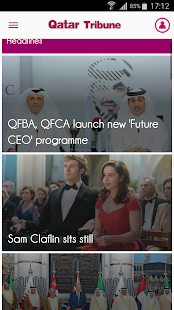 Qatar Tribune- screenshot thumbnail