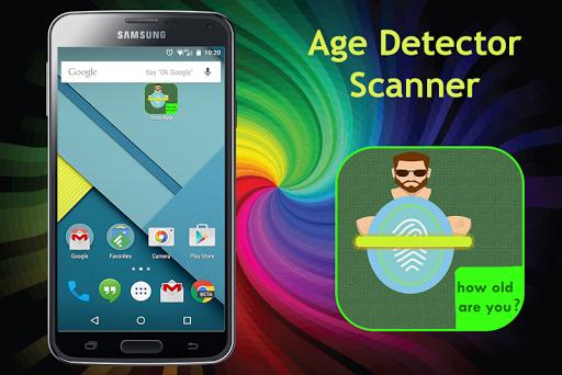Age Detector Scanner Prank