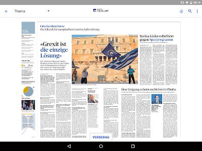 az Badener Tagblatt E-Paper screenshot 6