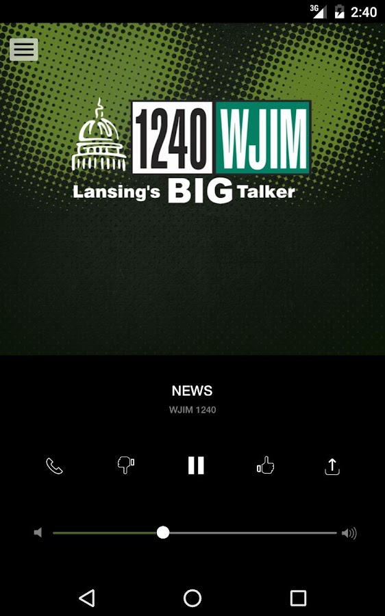 1240 WJIM - Lansing's Big Talker (WJIM-AM)- screenshot